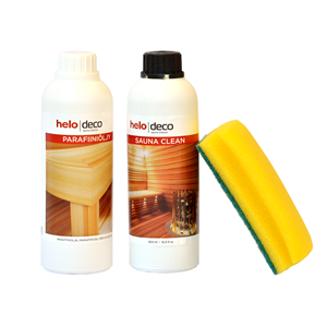 Helo Sauna Care set