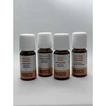 Badstuspesialisten Eteriske oljer Spice Collection x 4 stk